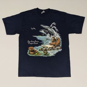 1999 Sea Lion Caves Oregon Coast T-shirt